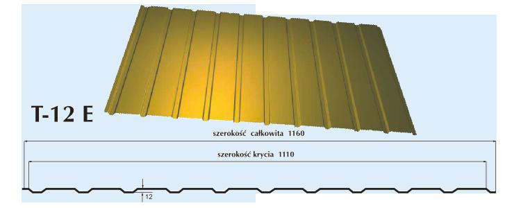 Blacha trapezowa T12e obrazek