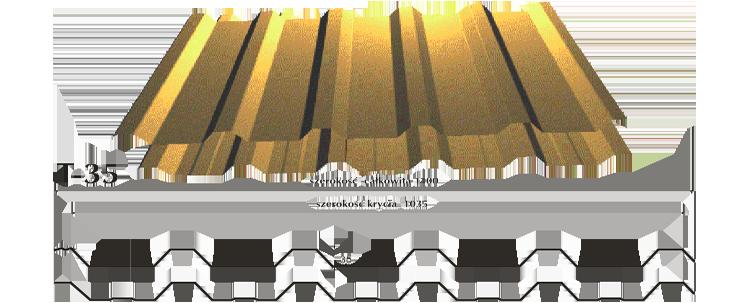 Blacha trapezowa t35 obrazek